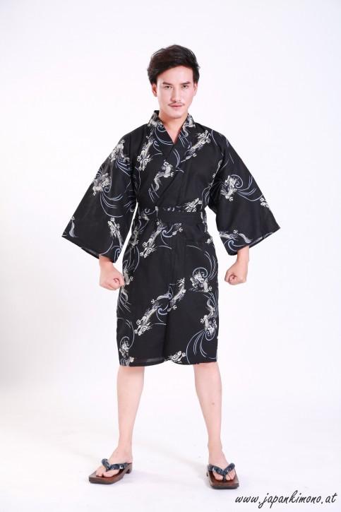 Kurzer Yukata für Damen und Herrn 3828
