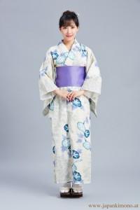 Kimono Beige Farbe