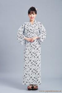 Gefütterter Damen Yukata 3807
