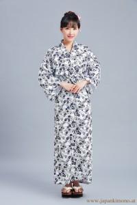 Gefütterter Damen Yukata 4863