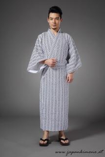 Gefütterter Herren Yukata  4801