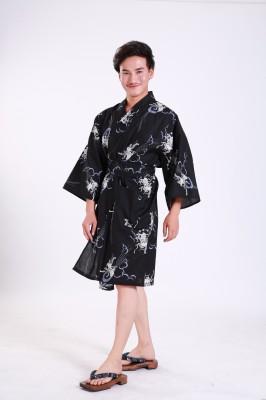 Kurzer Yukata für Damen und Herrn 3811