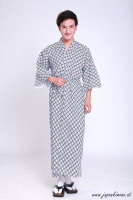 Gefütterter Herren Yukata  3814