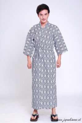 Gefütterter Herren Yukata 3816