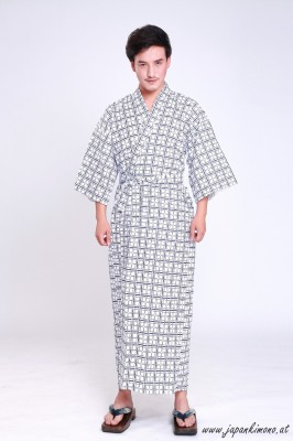 Gefütterter Herren Yukata  3818