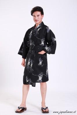 Kurzer Yukata für Damen und Herrn 3824