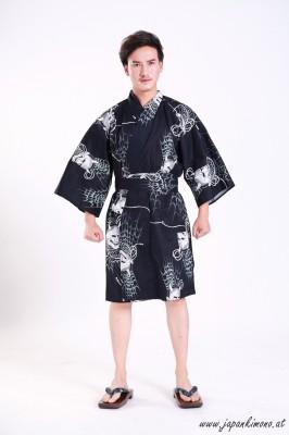 Kurzer Yukata für Damen und Herrn 3825