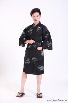 Kurzer Yukata für Damen und Herrn 3827