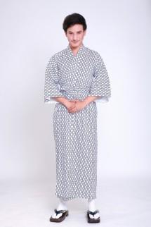 Gefütterter Herren Yukata  3815